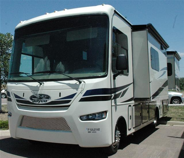 Brilliant 2013 Jayco Melbourne 29D ClassA Motorhome Mint Condition Bought In Fall Of 2013 Used Once In 2014, Twice In 2015 To Slave Lake And Back Always Shedded Had The Paint Protector Applied Electric Awning, Three Slide Out Awnings,