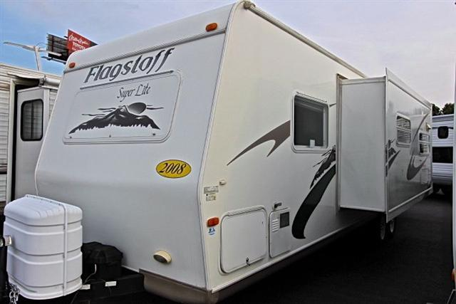 Used 2008 Flagstaff Super Lite 27BHSS Travel Trailer For Sale