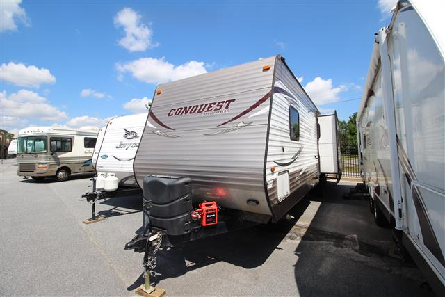 Used 2014 Gulfstream Conquest 295SBW Travel Trailer For Sale