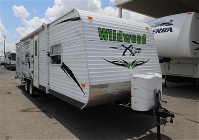 Used 2010 Forest River Wildwood 26BHXL Travel Trailer For Sale