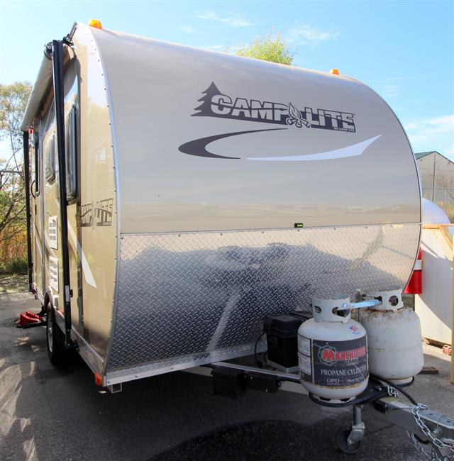 Used 2013 LIVIN LITE CAMP LITE CL13QBB Travel Trailer For Sale