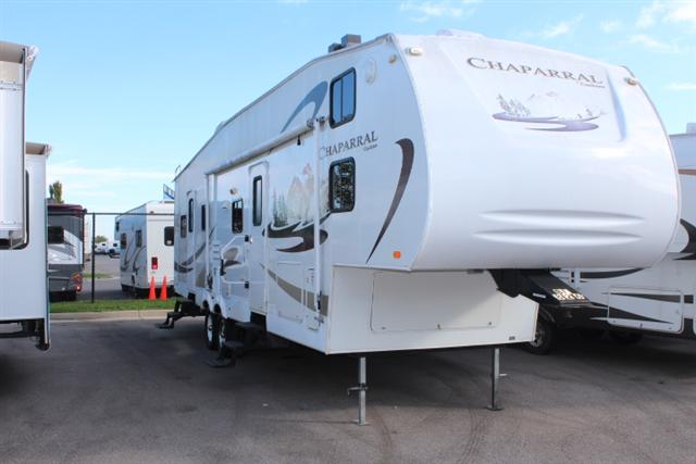 Used 2008 Coachmen Chaparral 340QBS Fifth Wheel For Sale