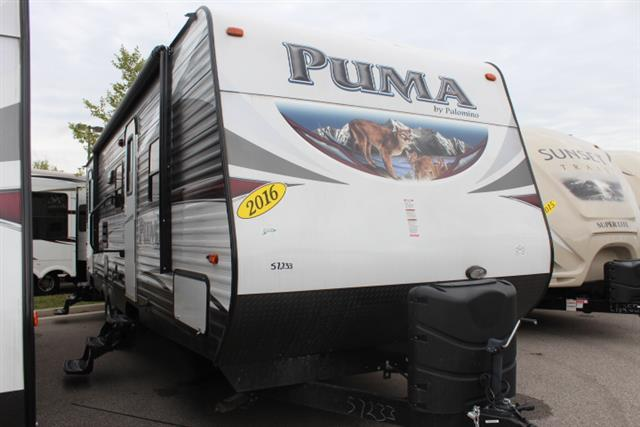 New 2016 Forest River Puma 28DSBS Travel Trailer For Sale