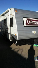 Used 2013 Coleman EXPEDITION LT 14FD Travel Trailer For Sale