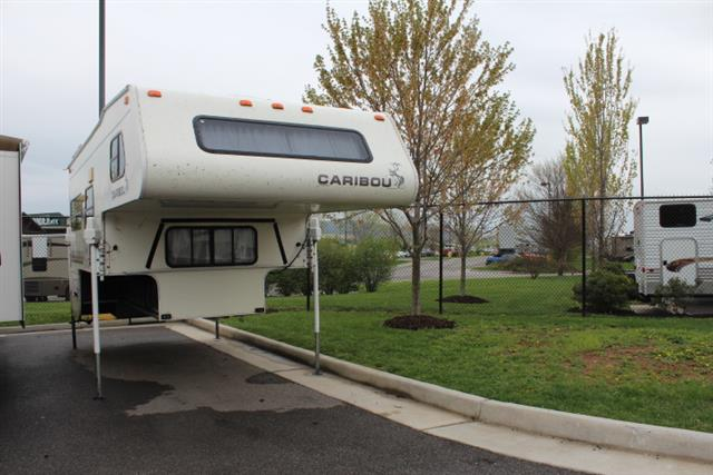Used 1998 Fleetwood Caribou TRUCK CAMPER Truck Camper For Sale