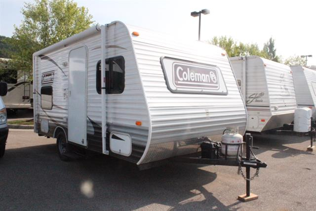 Used 2014 Coleman Dutchmen 15BH Travel Trailer For Sale