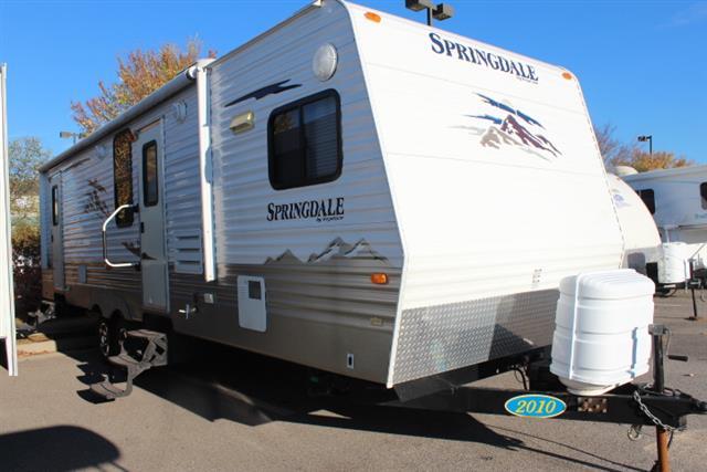 Used 2010 Keystone Springdale 297 FKSSR Travel Trailer For Sale