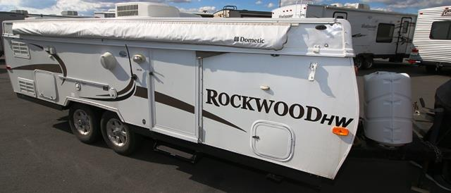 Used 2008 Rockwood Rv PREMIER HIGH WALL 256HW Hybrid Travel Trailer For Sale