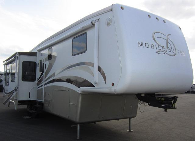 Used 2008 Double Tree RV Mobile Suites 36RSSB Fifth Wheel For Sale