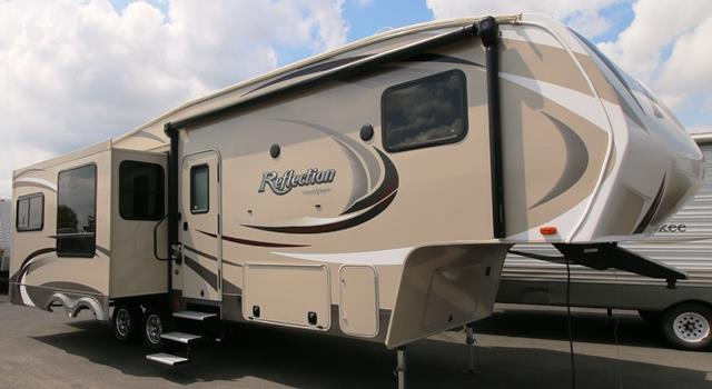 Used 2014 GRAND DESIGN Reflection 293RES Fifth Wheel For Sale