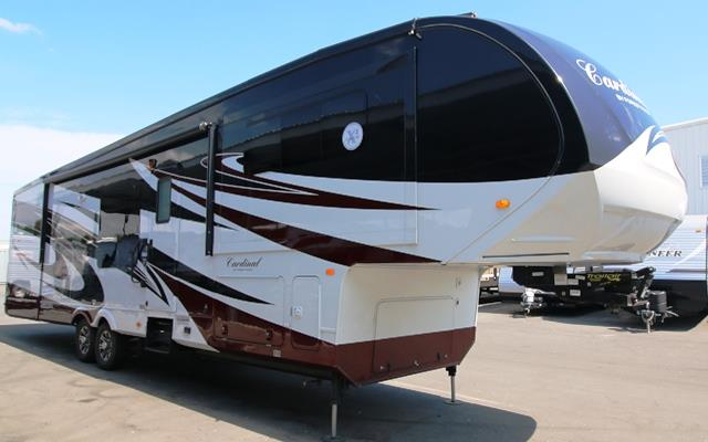 Used 2013 Forest River Cardinal 38FL Fifth Wheel For Sale