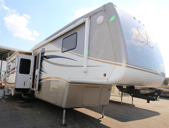 Used 2008 Double Tree RV Mobile Suites M36RSSB3 Fifth Wheel For Sale