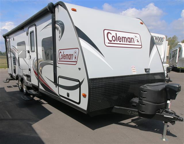 Used 2015 Coleman Coleman CTU249RB Travel Trailer For Sale