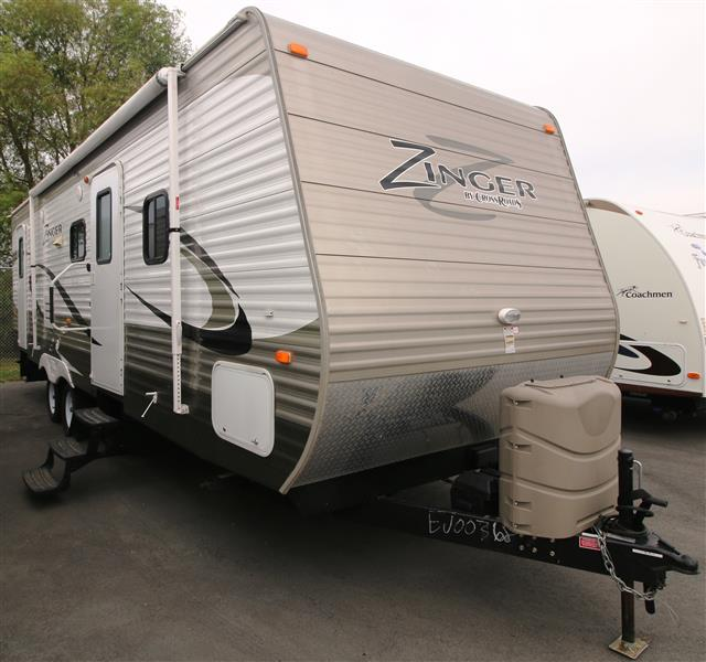 Used 2014 Crossroads Zinger 28BH Travel Trailer For Sale