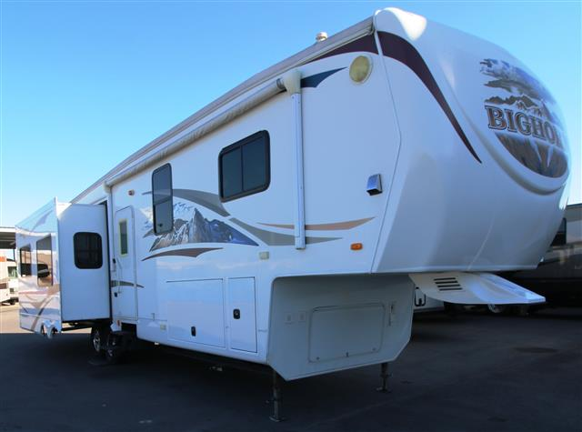 Used 2010 Heartland Bighorn 3410RE Fifth Wheel For Sale