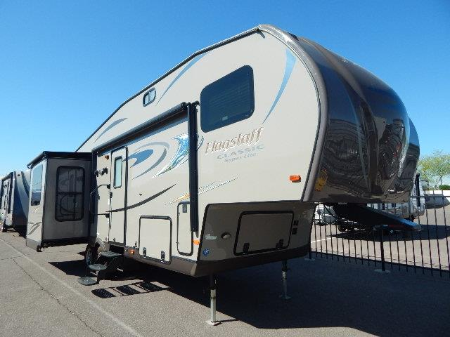 Used 2014 Flagstaff Classic Super Lite 8528RSWS Fifth Wheel For Sale