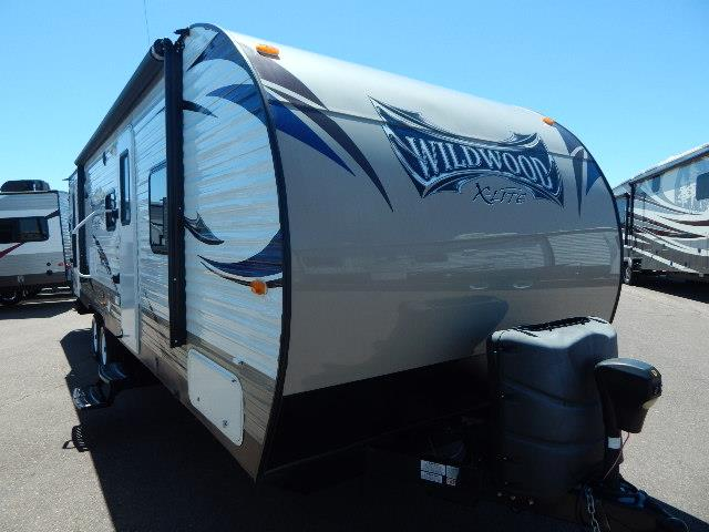 Used 2015 Forest River Wildwood 262BHXL Travel Trailer For Sale