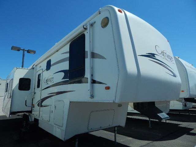 Used 2006 Carriage Cameo F33CKQ Fifth Wheel For Sale