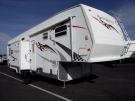 Used 2007 Forest River Sandpiper 40SPTS Fifth Wheel Toyhauler For Sale