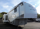 Used 2009 NuWa Hitchhiker CHAMPAGNE 37CKRD Fifth Wheel For Sale