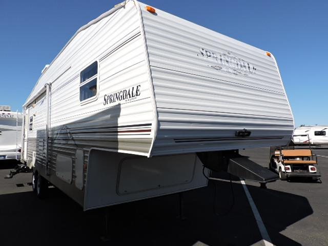 Used 2007 Keystone Springdale 279RLLGL Fifth Wheel For Sale