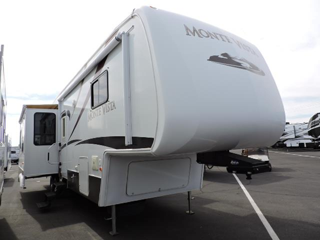 Used 2009 Thor Monte Vista 34QL Fifth Wheel For Sale