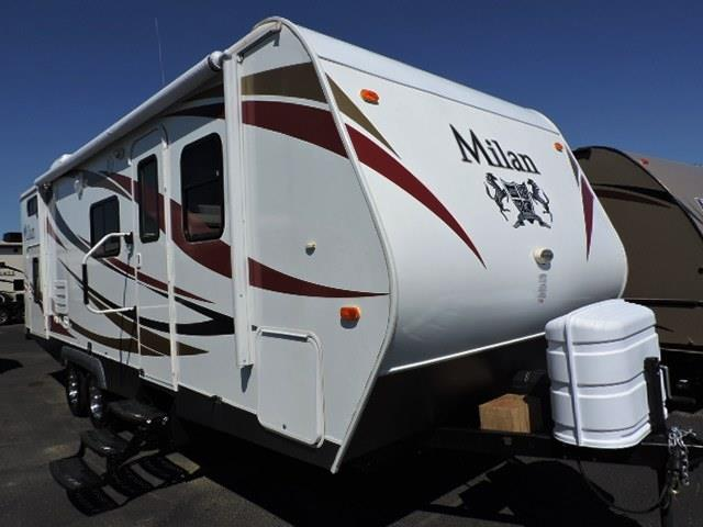 Used 2014 Eclipse RV MILAN 24BHSG Travel Trailer For Sale