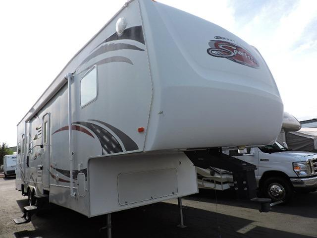 Used 2009 K-Z Sportster 35P Fifth Wheel Toyhauler For Sale