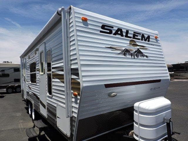 Used 2010 Forest River Salem T23FBS Travel Trailer For Sale