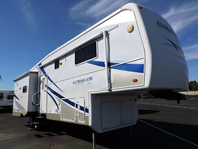 Used 2007 Holiday Rambler Alumascape 32SKT Fifth Wheel For Sale