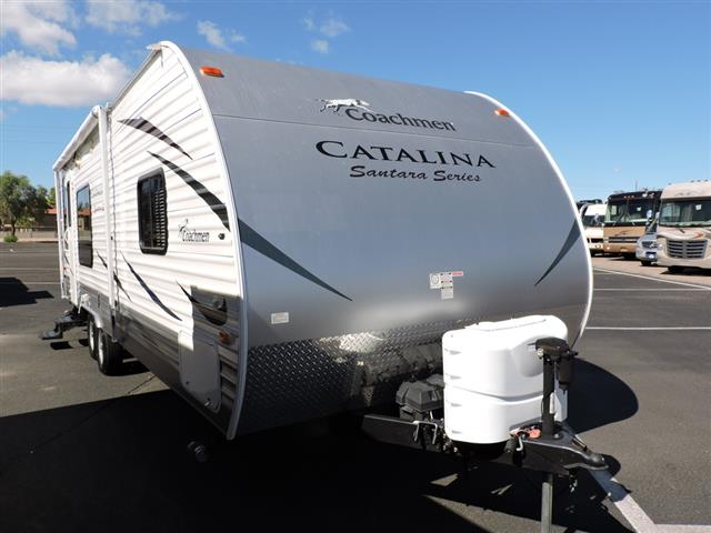 Used 2013 Coachmen Catalina 262RLS Travel Trailer For Sale