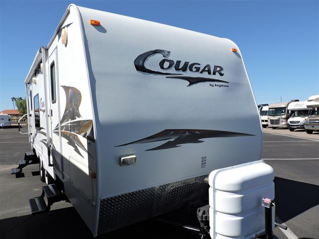 Used 2009 Keystone RV Cougar 243RKS Travel Trailer For Sale