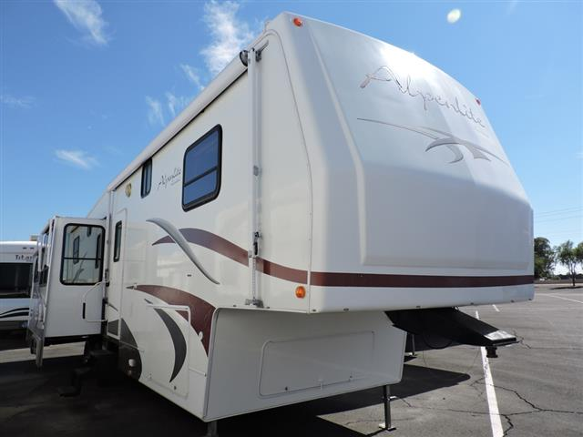 Used 2008 WESTERN RV Alpenlite 34RL Fifth Wheel For Sale