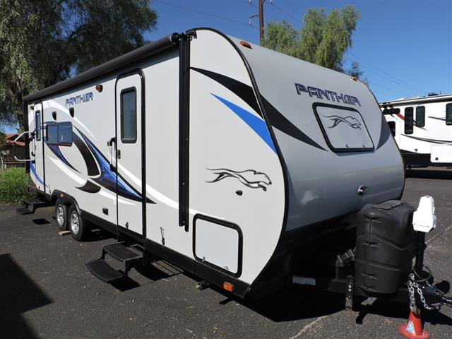 Used 2015 Pacific Coachworks Panther 23XL Travel Trailer For Sale