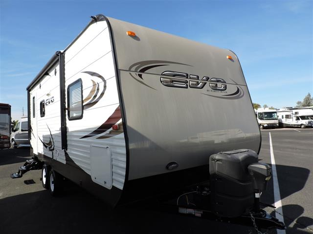 Used 2015 Forest River EVO 2160 Travel Trailer For Sale