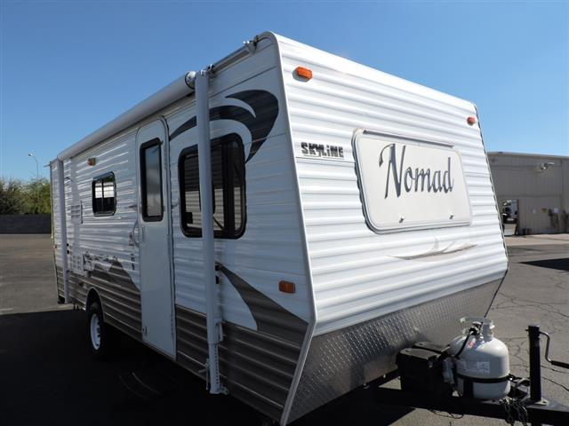 Used 2011 Skyline Nomad 186 Travel Trailer For Sale