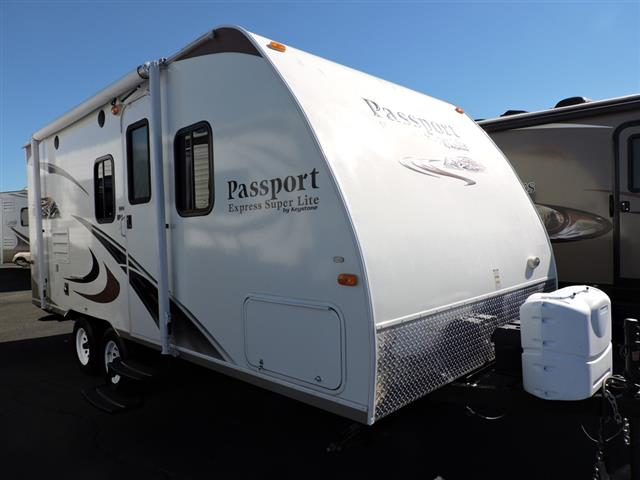 Used 2012 Keystone Passport 199ML Travel Trailer For Sale