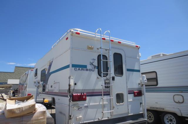 Used1996 Fleetwood Caribou Truck Camper For Sale