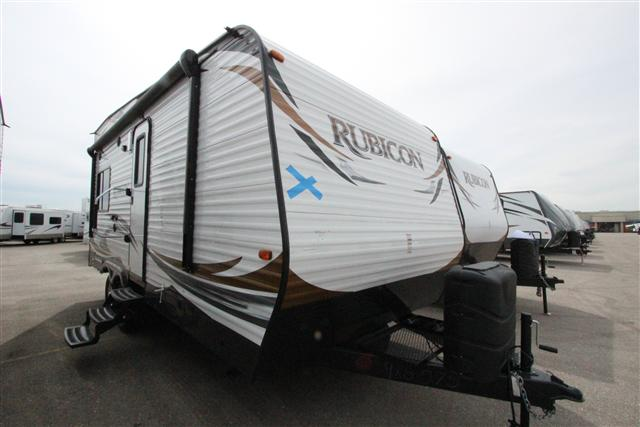 2014 Travel Trailer Toy Hauler Dutchmen RUBICON