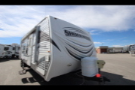 Used 2011 Forest River Shockwave 24RDX Travel Trailer Toyhauler For Sale