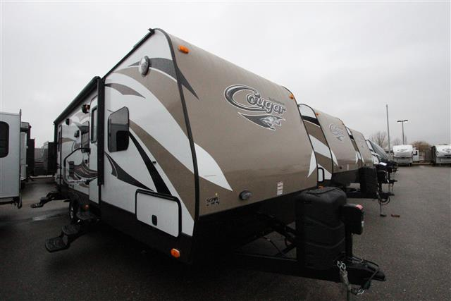 New 2015 Keystone Cougar 26DBHWE Travel Trailer For Sale