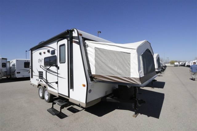 New 2016 Forest River Rockwood Roo 183 Hybrid Travel Trailer For Sale