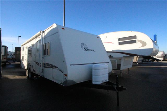 Used 2007 Forest River Surveyor 291 Travel Trailer For Sale