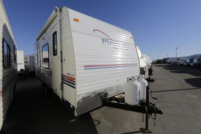 Used 2005 Fleetwood Pioneer 18T6 Travel Trailer For Sale