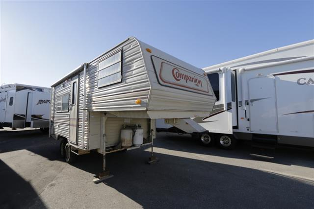 Used 1987 Kit Manufacturing Company Companion 207 Fifth Wheel For Sale