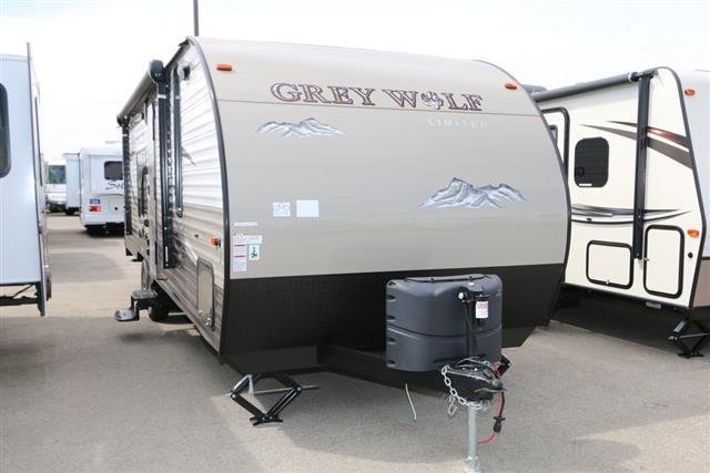New 2016 Forest River Grey Wolf 26RR Travel Trailer Toyhauler For Sale