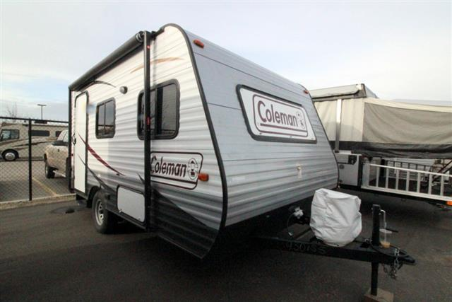 Used 2015 Dutchmen Coleman 14FD Travel Trailer For Sale