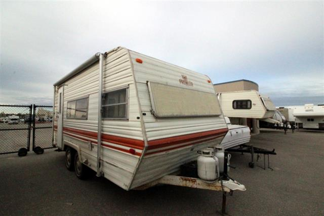 Used 1981 Fleetwood Prowler 19 Travel Trailer For Sale