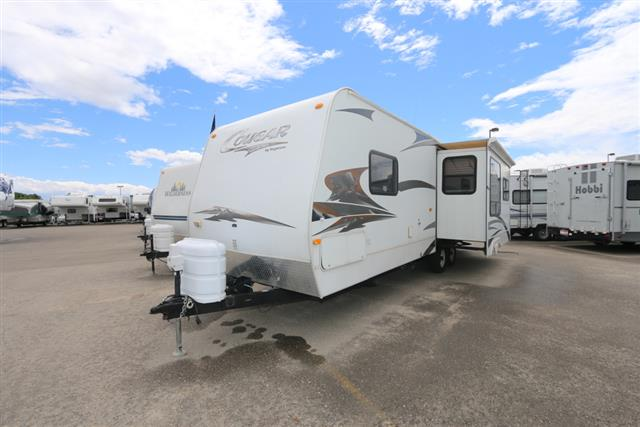 Used 2008 Keystone Cougar 294RLS Travel Trailer For Sale