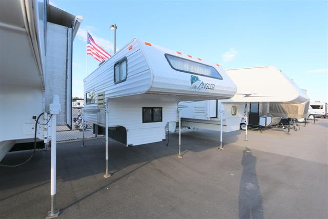 Used 1997 Fleetwood Angler 8B Truck Camper For Sale